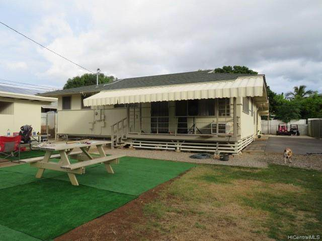 86-147 Kakaiapola Street, Waianae, HI 96792 (MLS #202111922) :: Team Lally