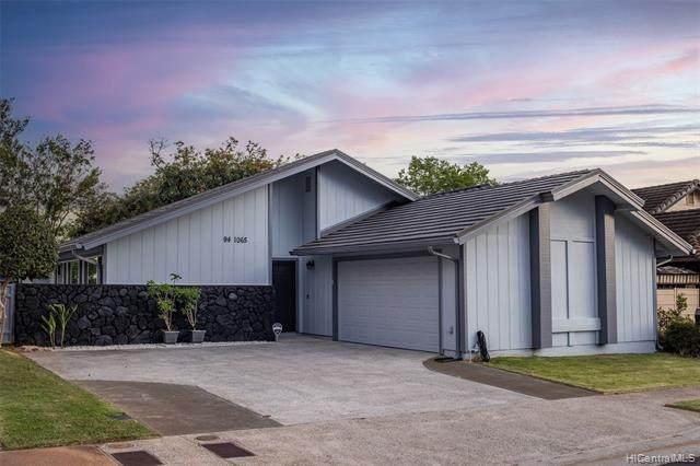 94-1065 Poe Place, Waipahu, HI 96797 (MLS #202115439) :: Team Lally