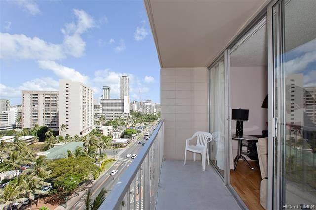 1925 Kalakaua Avenue #1306, Honolulu, HI 96815 (MLS #202104440) :: Island Life Homes