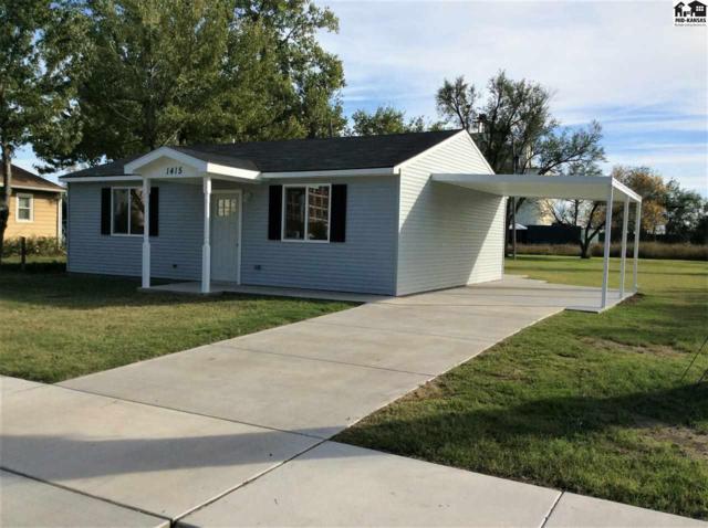 1415 E Avenue B, Hutchinson, KS 67501 (MLS #36206) :: Select Homes - Team Real Estate