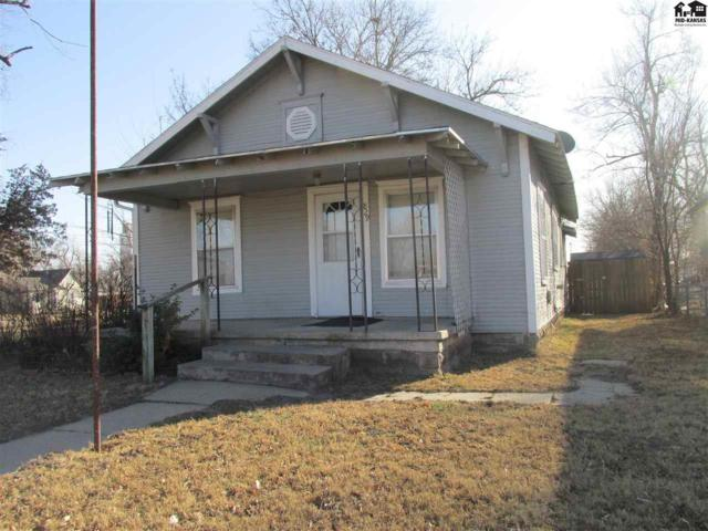 829 E 3rd Ave, Hutchinson, KS 67501 (MLS #36547) :: Select Homes - Team Real Estate