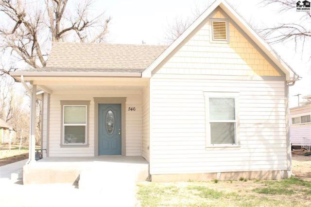 546 E 1st Ave, Hutchinson, KS 67501 (MLS #37185) :: Select Homes - Team Real Estate