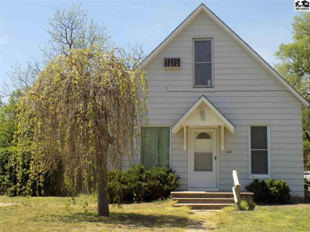 407 N Burr St, Nickerson, KS 67561 (MLS #37385) :: Select Homes - Team Real Estate