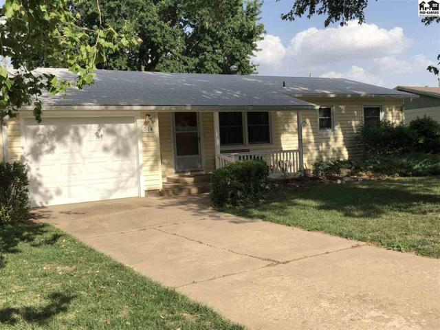 514 S Pine St, Inman, KS 67546 (MLS #37646) :: Select Homes - Team Real Estate