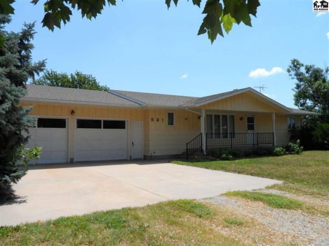 531 S Empire St, Galva, KS 67443 (MLS #37854) :: Select Homes - Team Real Estate