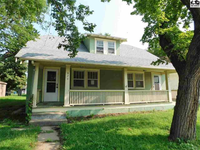 820 E 4th Ave, Hutchinson, KS 67501 (MLS #38175) :: Select Homes - Team Real Estate