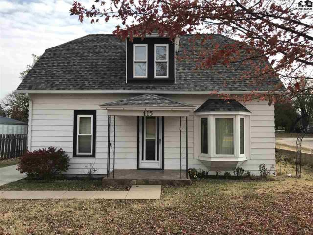 415 Waverly St, Little River, KS 67457 (MLS #38246) :: Select Homes - Team Real Estate