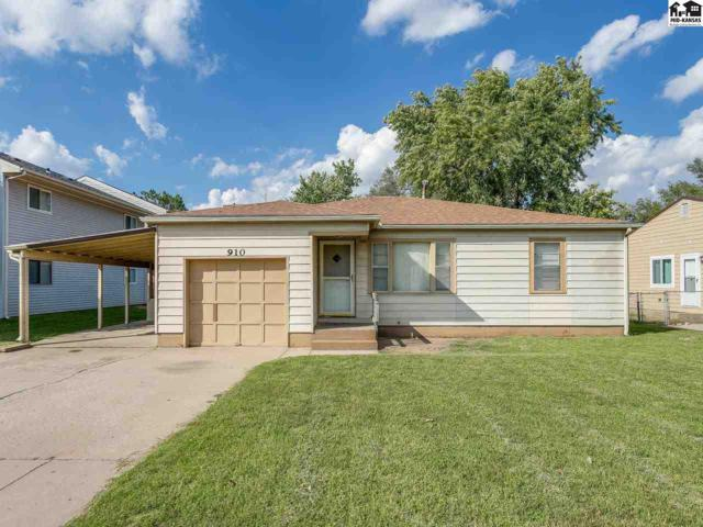 910 E 11th Ave, Hutchinson, KS 67501 (MLS #38322) :: Select Homes - Team Real Estate
