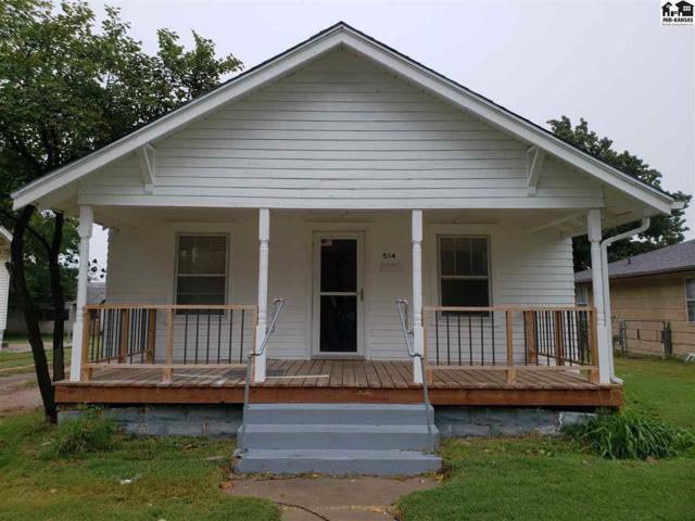 514 E 10th Ave, Hutchinson, KS 67501 (MLS #38437) :: Select Homes - Team Real Estate