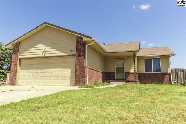 1402 E 45th St S, Wichita, KS 67216 (MLS #37679) :: Select Homes - Team Real Estate