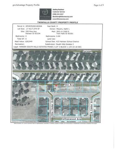TBD Tbd, Hansen, ID 83334 (MLS #98662366) :: Zuber Group