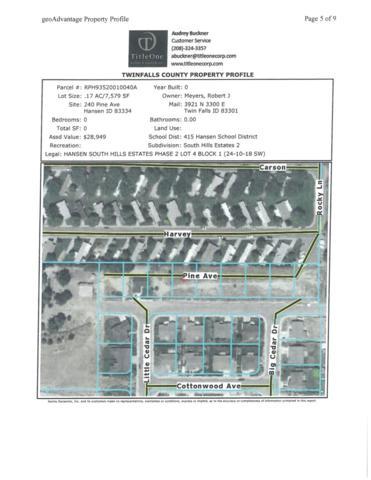 TBD Tbd, Hansen, ID 83334 (MLS #98662373) :: Zuber Group