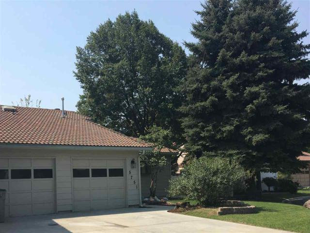 5751 W Fortress Ct, Boise, ID 83703 (MLS #98667818) :: The Broker Ben Group at Realty Idaho