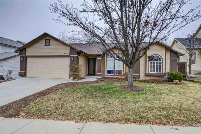5961 S Wallflower Pl., Boise, ID 83716 (MLS #98678058) :: Front Porch Properties