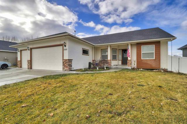 2581 S Skyview Dr, Nampa, ID 83686 (MLS #98680335) :: Michael Ryan Real Estate