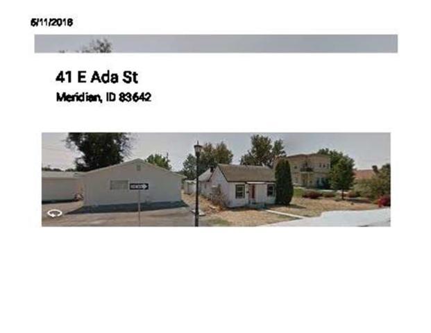 41 E. Ada, Meridian, ID 83642 (MLS #98692387) :: Build Idaho