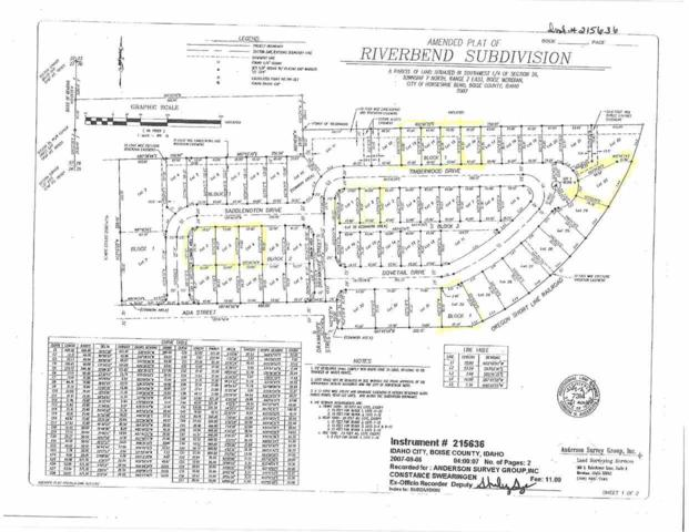 Timberwood Drive, Horseshoe Bend, ID 83629 (MLS #98695878) :: Full Sail Real Estate
