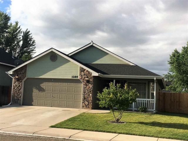 1285 W Verbena Drive, Meridian, ID 83642 (MLS #98696826) :: Jon Gosche Real Estate, LLC