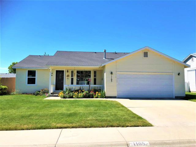 1105 W Bird Ave, Nampa, ID 83686 (MLS #98697446) :: Michael Ryan Real Estate