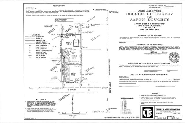 4314-4328 W Clark, Boise, ID 83705 (MLS #98707784) :: Juniper Realty Group