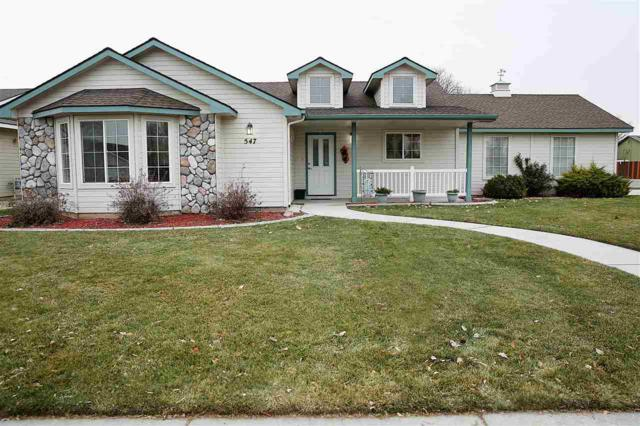 547 S Valley Dr., Nampa, ID 83686 (MLS #98714588) :: Boise River Realty