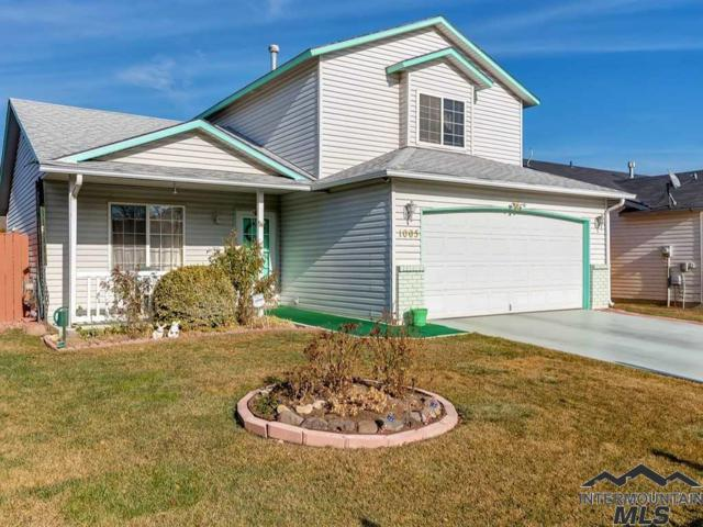 1005 Gold Creek Drive, Caldwell, ID 83607 (MLS #98716704) :: Minegar Gamble Premier Real Estate Services