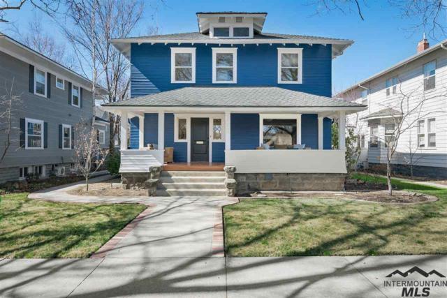 1009 N Harrison Blvd, Boise, ID 83702 (MLS #98722047) :: Boise River Realty
