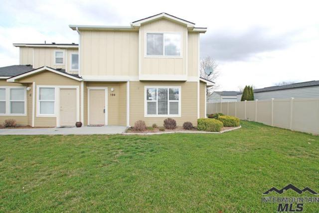 10970 W Garverdale Ln #104, Boise, ID 83713 (MLS #98722376) :: Minegar Gamble Premier Real Estate Services