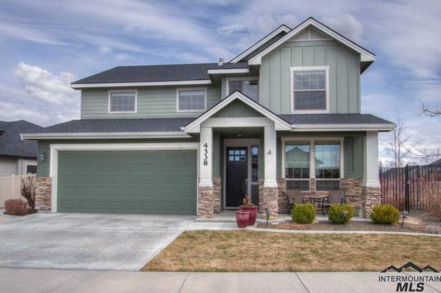 4338 S Dazzle Ave, Meridian, ID 83642 (MLS #98722865) :: Jon Gosche Real Estate, LLC