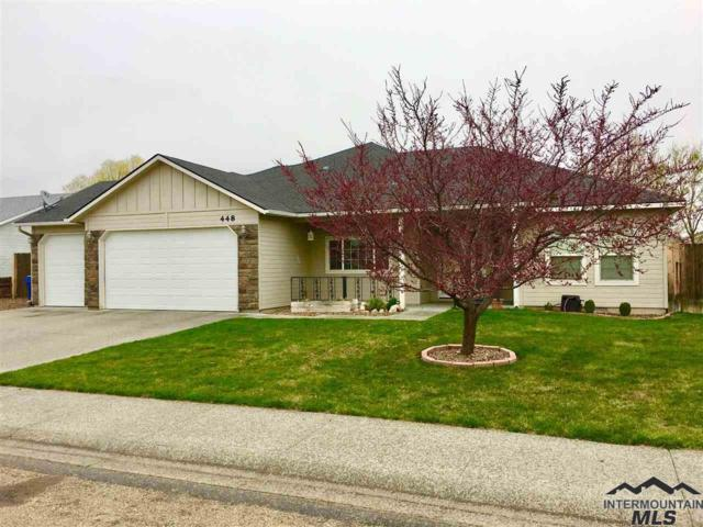 448 NW Bradford Ave, Mountain Home, ID 83647 (MLS #98725479) :: Full Sail Real Estate