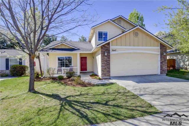 3647 Fort Boise Ln, Boise, ID 83716 (MLS #98726011) :: Team One Group Real Estate