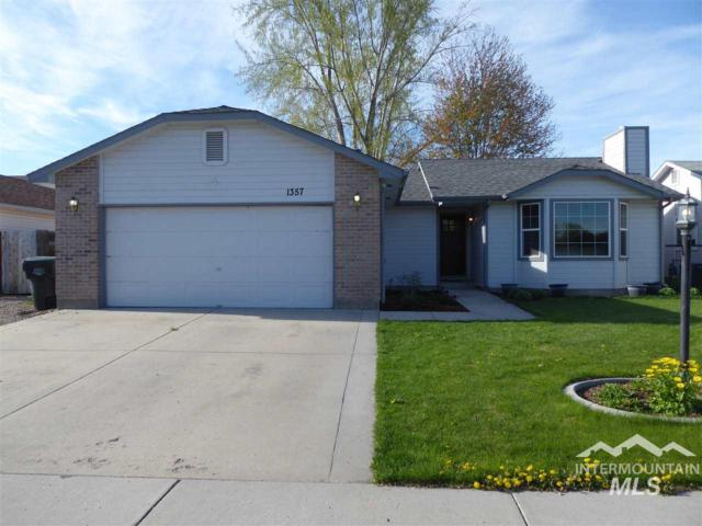 1357 W Radial Ct, Meridian, ID 83646 (MLS #98726429) :: Boise River Realty