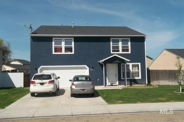 213 Midvale Avenue, Caldwell, ID 83605 (MLS #98726632) :: Silvercreek Realty Group