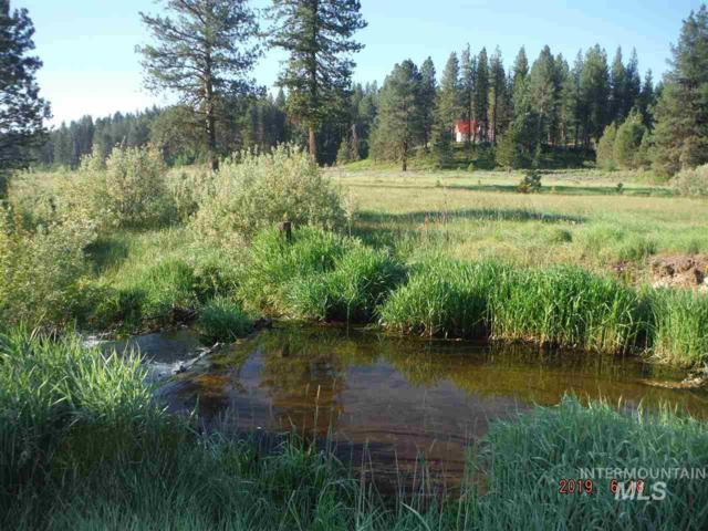 Tracts 15 & 16 Harris Creek Rd., Idaho City, ID 83631 (MLS #98734008) :: New View Team