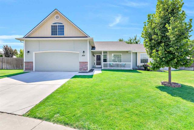 1647 Wrightwood Drive, Meridian, ID 83642 (MLS #98741018) :: Full Sail Real Estate