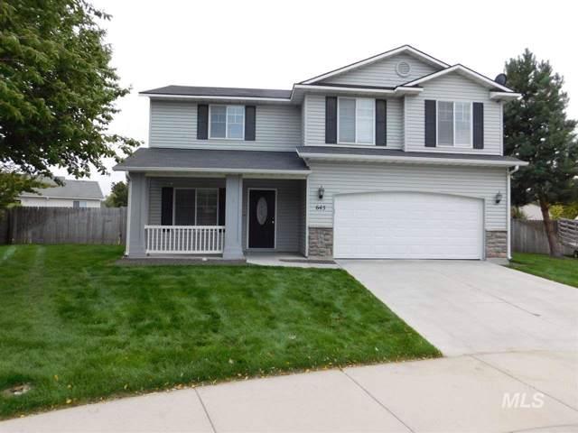 645 N Luna Pl, Kuna, ID 83634 (MLS #98744586) :: Boise River Realty