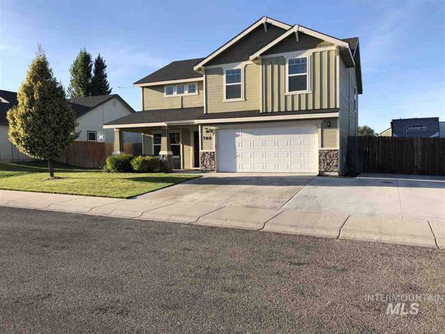 760 W Sandbox St., Kuna, ID 83634 (MLS #98745300) :: New View Team