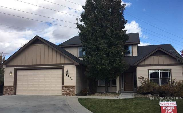 4774 N Station Pl, Meridian, ID 83646 (MLS #98748205) :: Silvercreek Realty Group