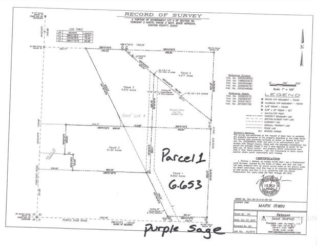 TBD Parcel 1 Purple Sage, Middleton, ID 83644 (MLS #98749414) :: Idaho Real Estate Pros
