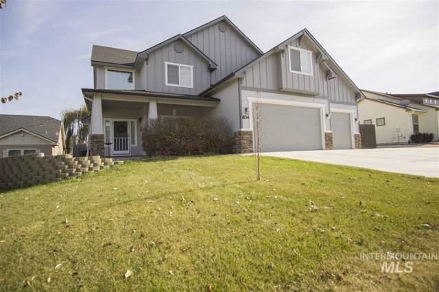 834 W Trine Loop, Nampa, ID 83686 (MLS #98749518) :: Boise River Realty
