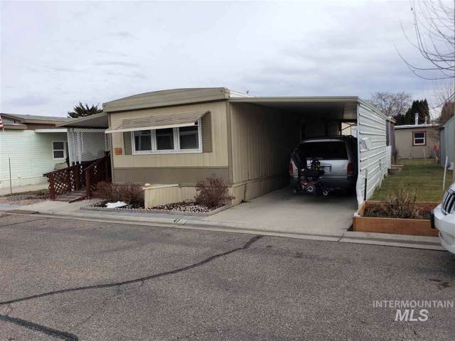 1715 W Flamingo Ave, # 47, Nampa, ID 83651 (MLS #98755027) :: Jon Gosche Real Estate, LLC