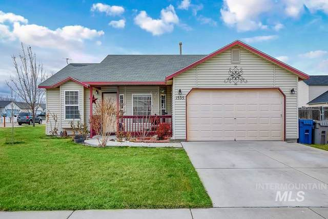 1535 W Dakota Loop, Nampa, ID 83686 (MLS #98755598) :: Silvercreek Realty Group