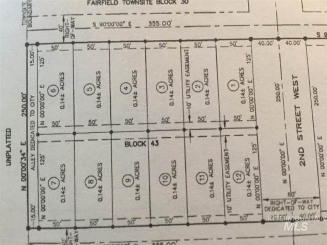 301 W Spruce Ave., Fairfield, ID 83327 (MLS #98756319) :: Build Idaho