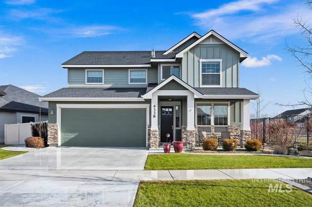 4338 S Dazzle Ave, Meridian, ID 83642 (MLS #98756442) :: New View Team