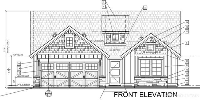 1424 W Cerulean St, Kuna, ID 83634 (MLS #98758145) :: Minegar Gamble Premier Real Estate Services