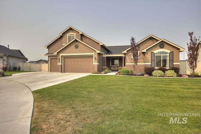 855 N Morley Green Pl, Eagle, ID 83616 (MLS #98760005) :: Minegar Gamble Premier Real Estate Services