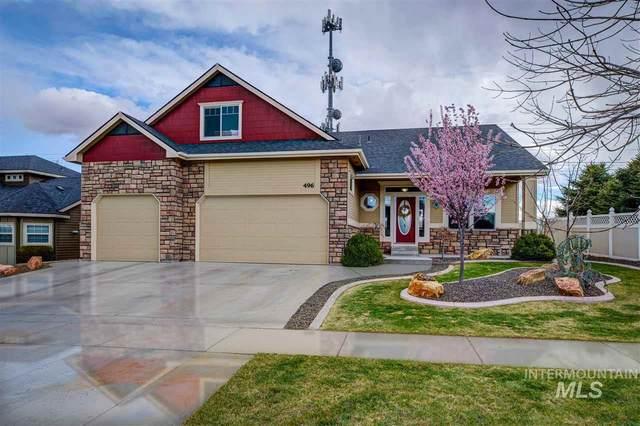 496 E Sunrise Rim Rd, Nampa, ID 83686 (MLS #98762949) :: Team One Group Real Estate
