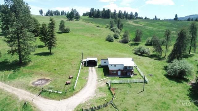 1262 Hatter Creek Rd, Princeton, ID 83857 (MLS #98768295) :: New View Team