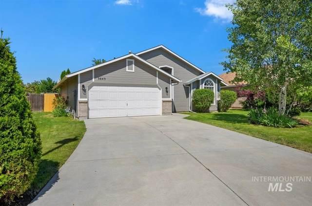 3643 E Sweet Pea Ct, Boise, ID 83716 (MLS #98768847) :: Story Real Estate