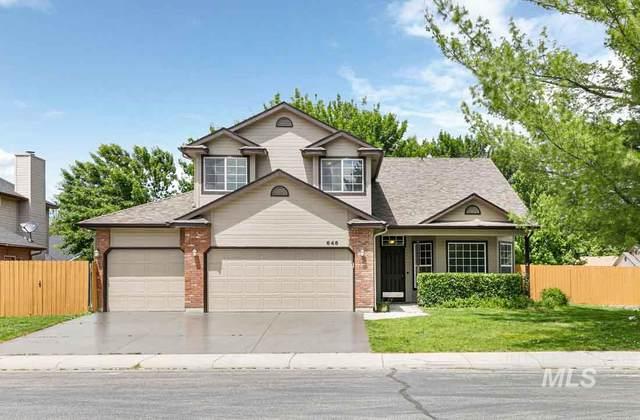 646 W Konavle Ct, Eagle, ID 83616 (MLS #98769254) :: Jon Gosche Real Estate, LLC